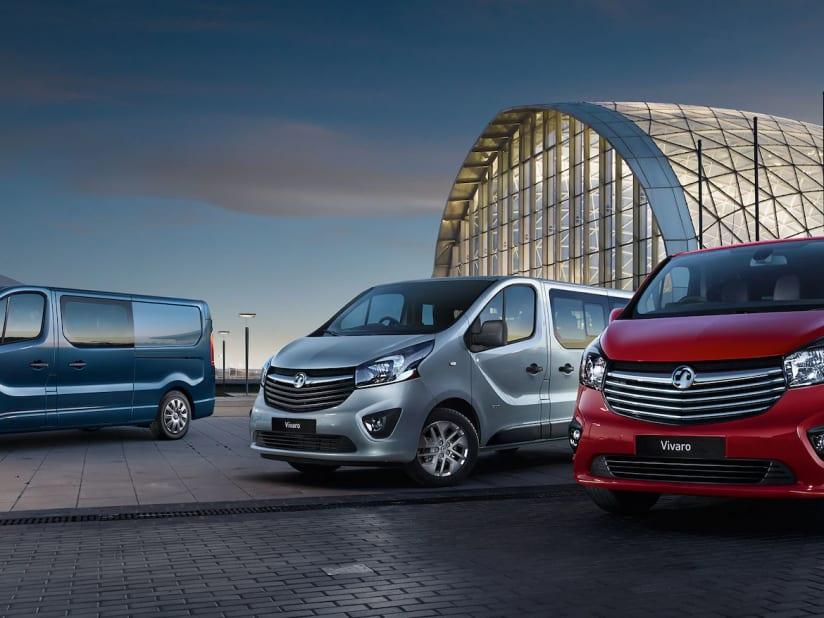 hot-seeling original select for latest running shoes Range of Vauxhall Vans at Charles Hurst Group