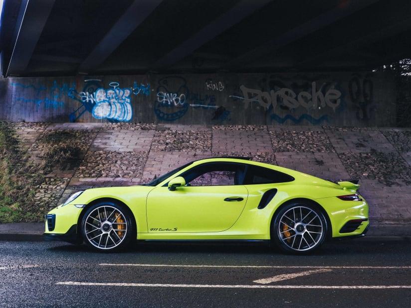Car Of The Week Acid Green Porsche 911 Turbo S Alexanders Prestige