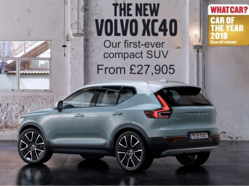 New Volvo XC40 | Bradford & Huddersfield | Clive Brook Volvo