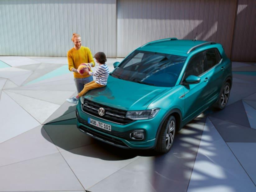 New Volkswagen T-Roc in Cornwall | Helston Garages