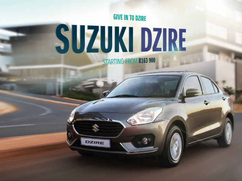 Dzire Sedan | Suzuki South Africa