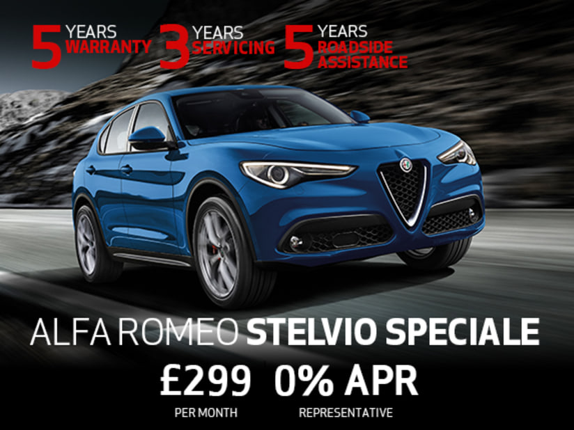 Alfa Romeo Stelvio Speciale Offer Kent And Berkshire Thames Alfa
