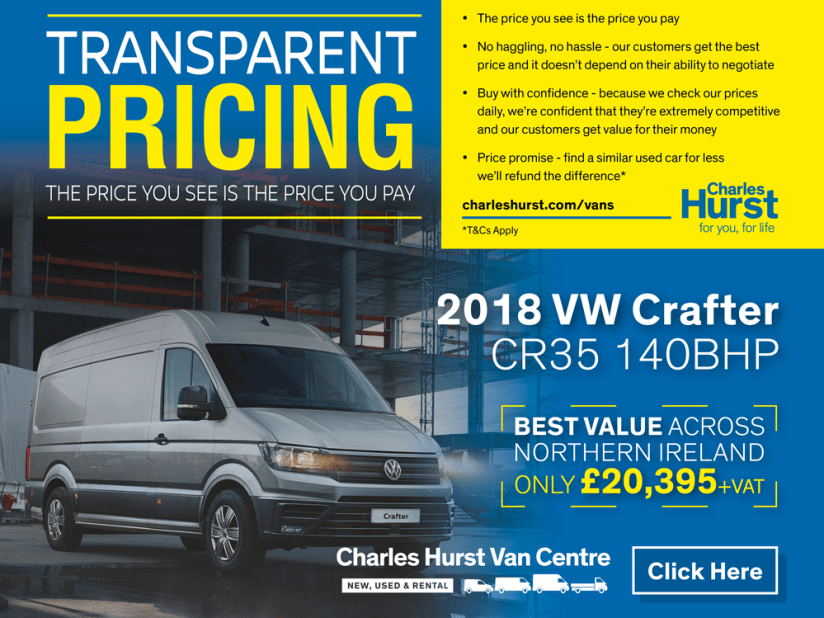 b82c761bcc6513 Used Vans for sale in Belfast Northern Ireland (NI) - Charles Hurst