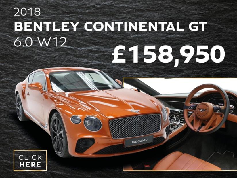 Used Bentley Cars for Sale   Belfast   Charles Hurst