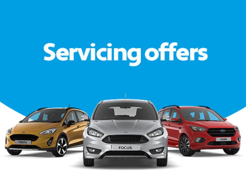 Ford Servicing Offers   Edinburgh, Falkirk, Livingston and