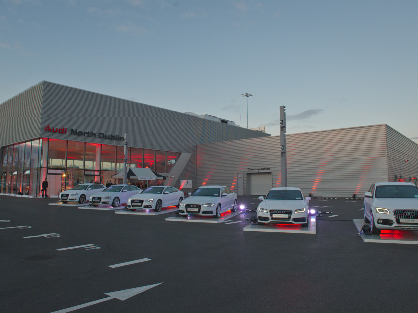New Q7 e-tron arrives at Audi North Dublin &