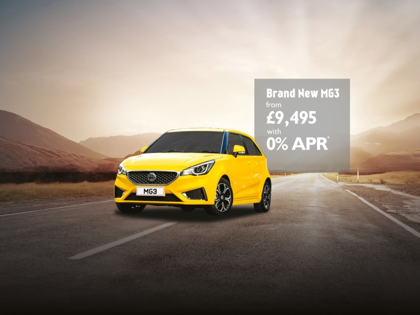 Mg3 Available From 9 495 On 0 Apr Finance Maidstone And