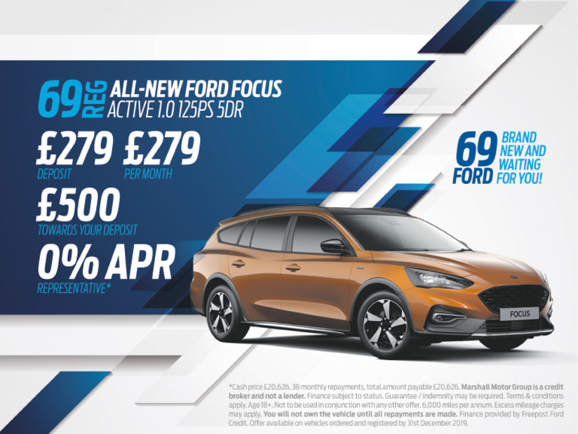 0 Apr Car >> All New Ford Focus Exclusive Offers Available From 289 A
