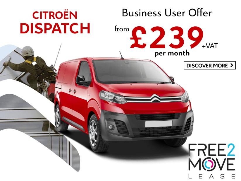 New Dispatch Van | Tates Citroen | Crawley and Portslade