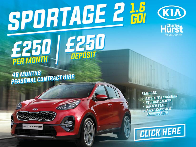 Kia Sportage | Offers | Charles Hurst