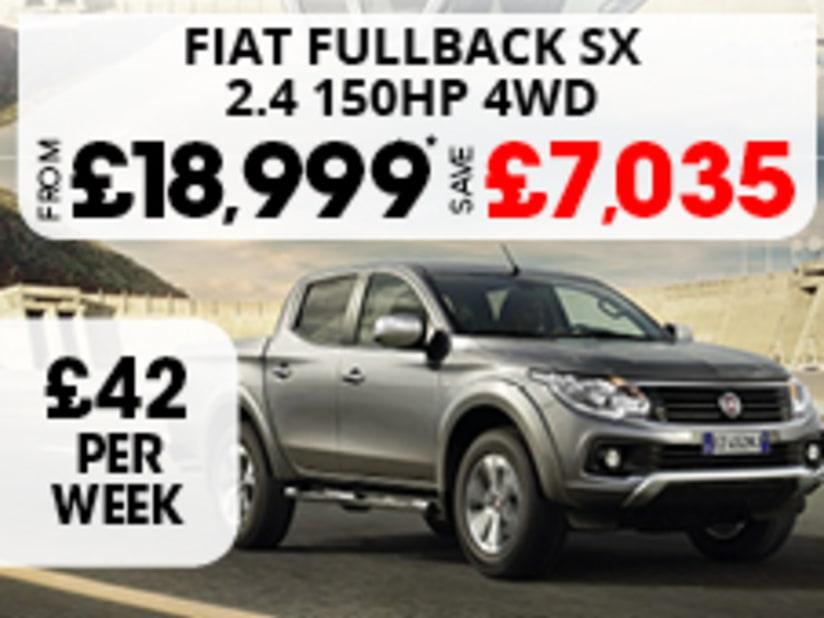 53e0dd1646 Fiat Fullback SX Double Cab £18