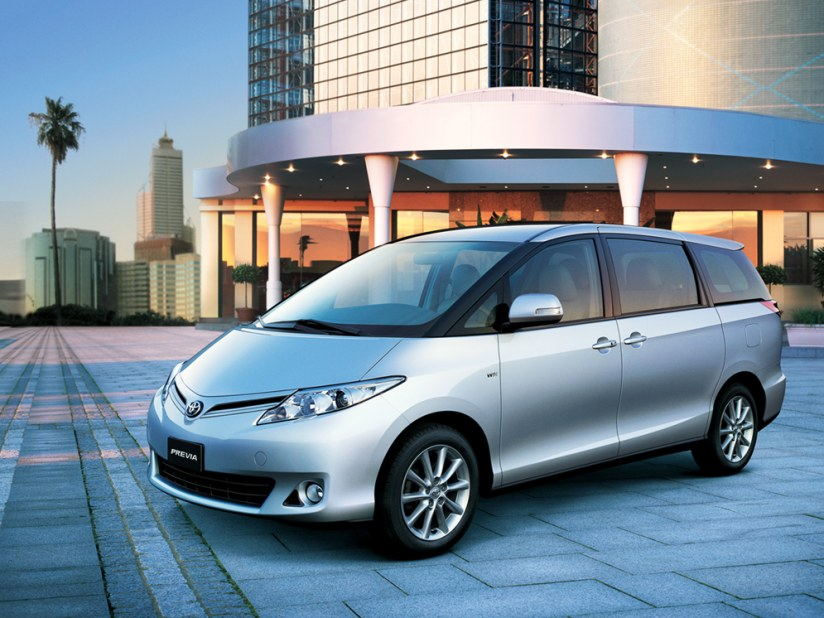 New Toyota Previa 2018 Cars for Sale in the UAE | Toyota
