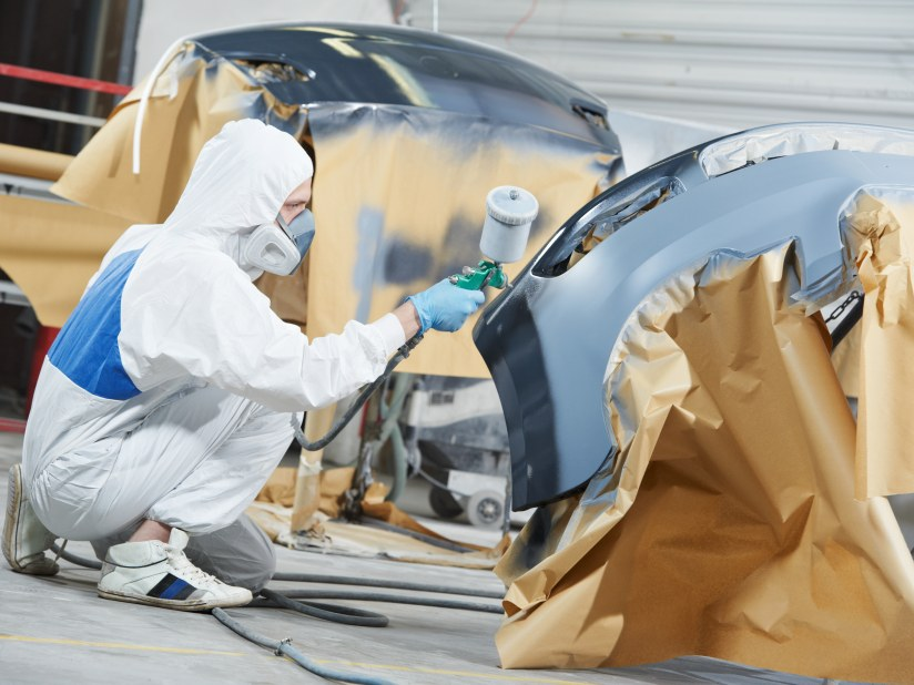 Car Body Shop >> Marshall Paint And Body Repair Centre Grimsby Marshall