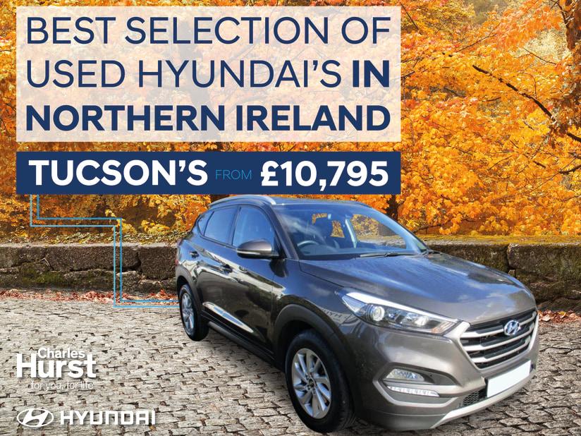 Tucson Used Cars >> Used Hyundai Cars Dundonald Charles Hurst Hyundai