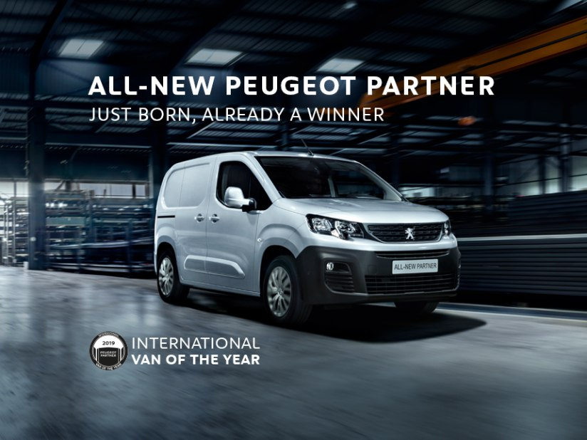 935e7eb52f55f8 Peugeot Vans At Donnelly Group. All-New Peugeot Partner