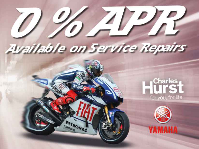 Motorcycle Parts & Servicing | Belfast | Charles Hurst
