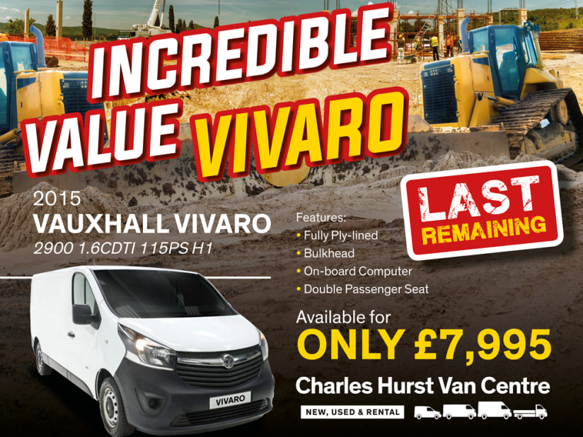 Used Vans for sale in Belfast Northern Ireland (NI) - Charles Hurst