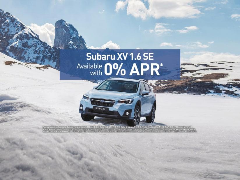 Subaru Xv With 0 Apr Offer Fg Barnes Subaru Maidstone In Kent