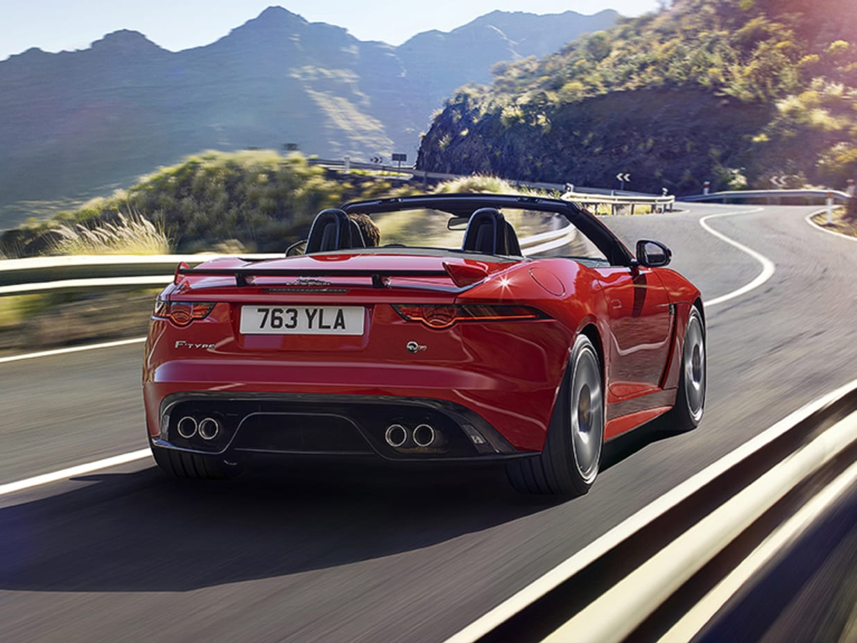 THE New Jaguar F Type Convertible