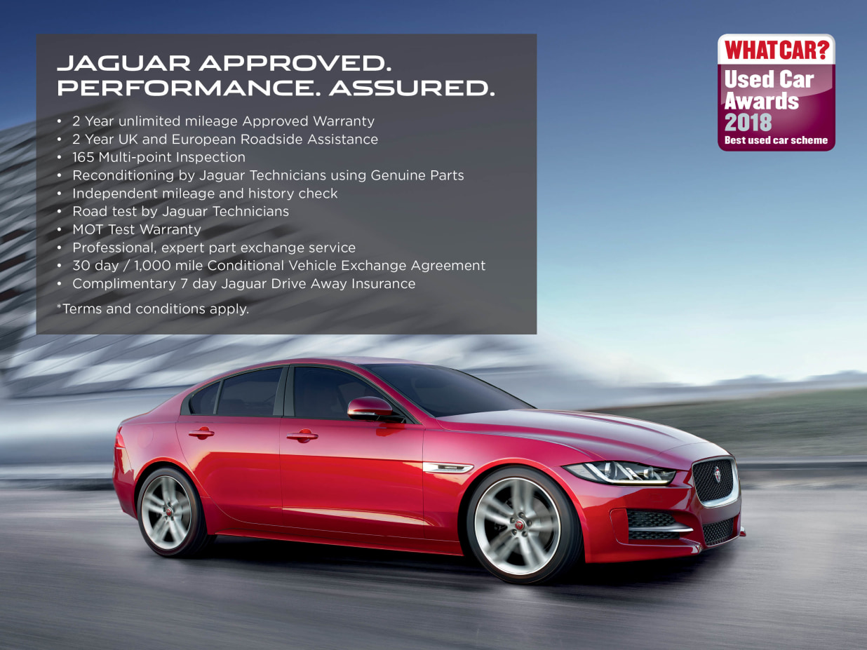 Jaguar Approved Used Promise | Lookers Jaguar
