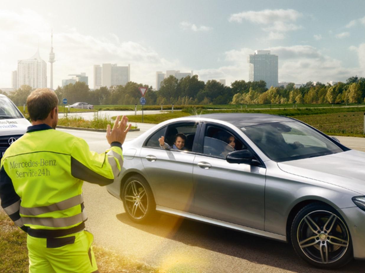Mercedes-Benz E-Class: Roadside Assistance