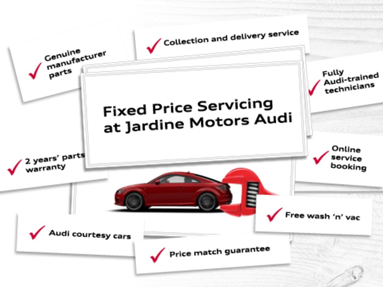 Fixed Price Servicing Across The UK Jardine Motors Audi - Audi parts online