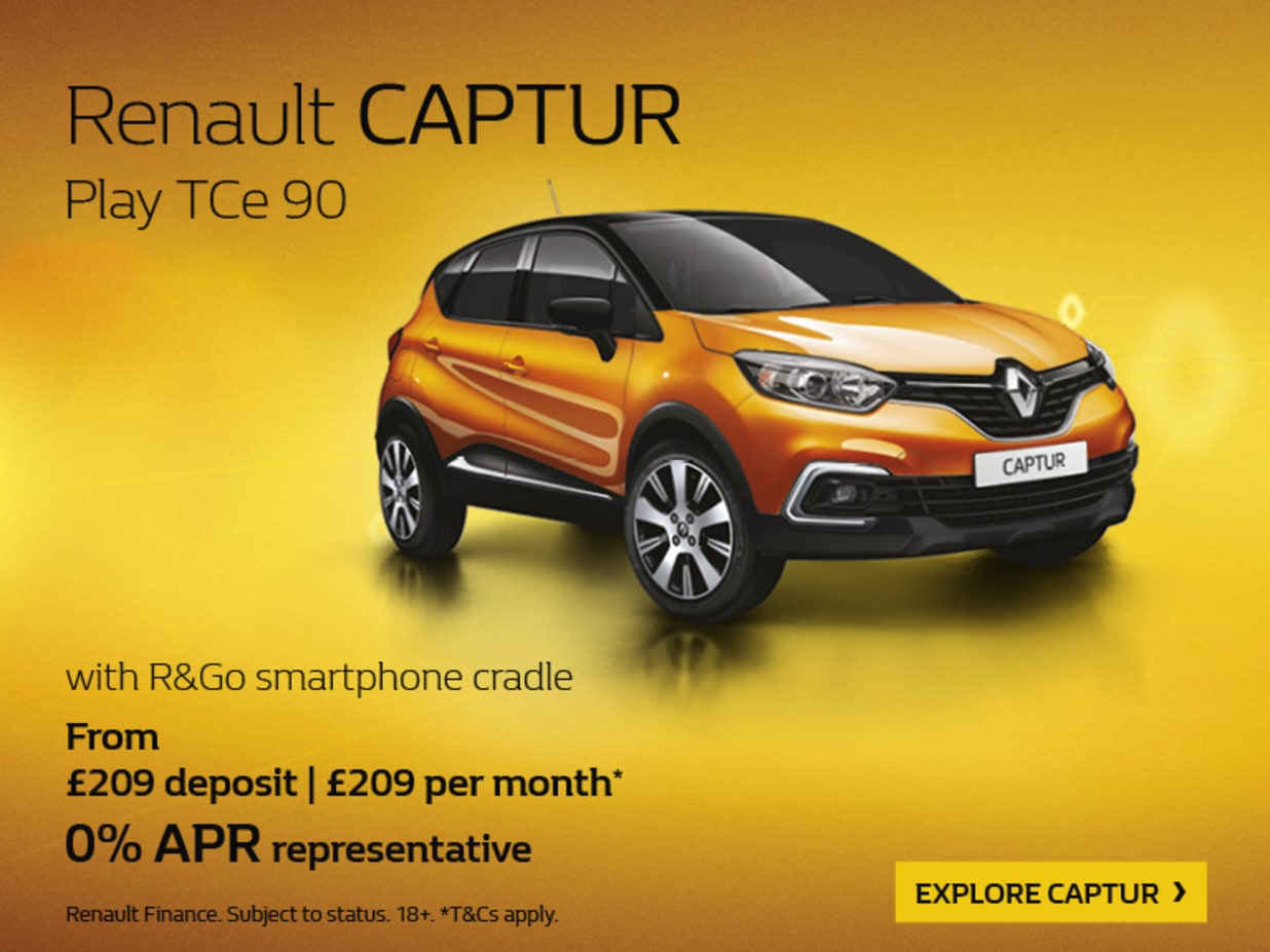 Renault finance offer