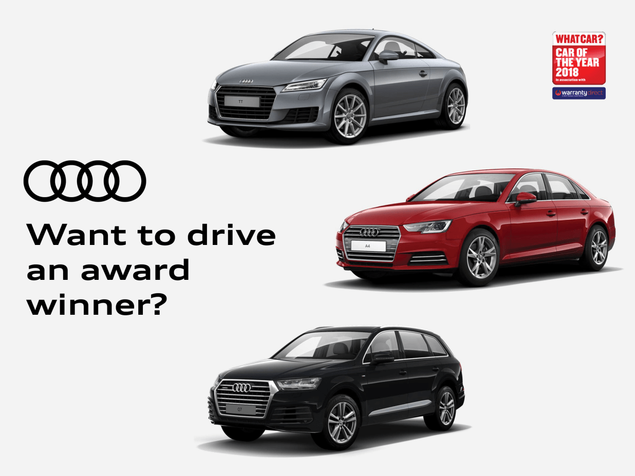 Three Wins For Audi At The What Car Awards Lookers Audi - Audi news