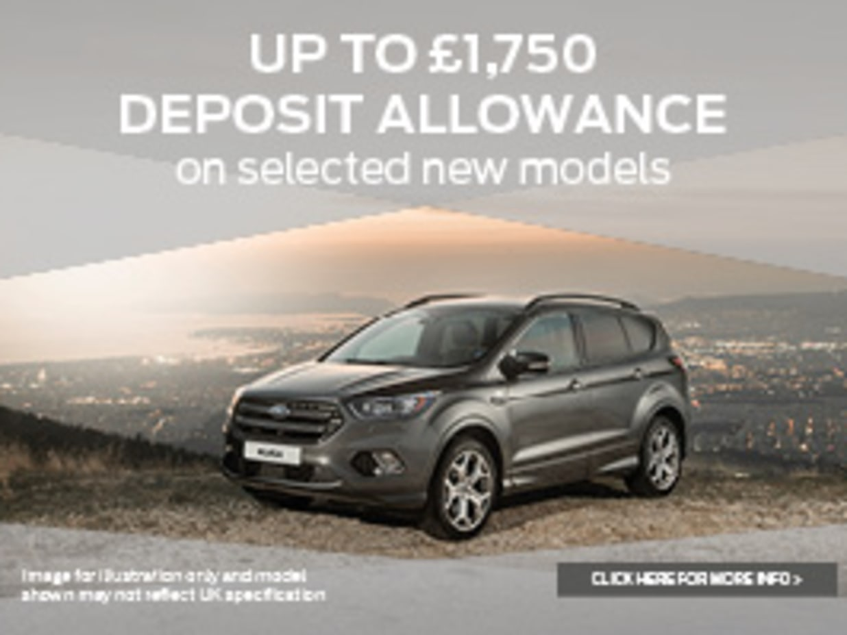 Ford new car deposit allowance