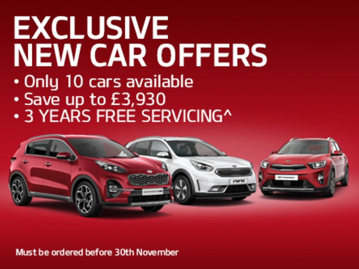 Exclusive New Car Offers Barnsley Burrows Motor Company Kia