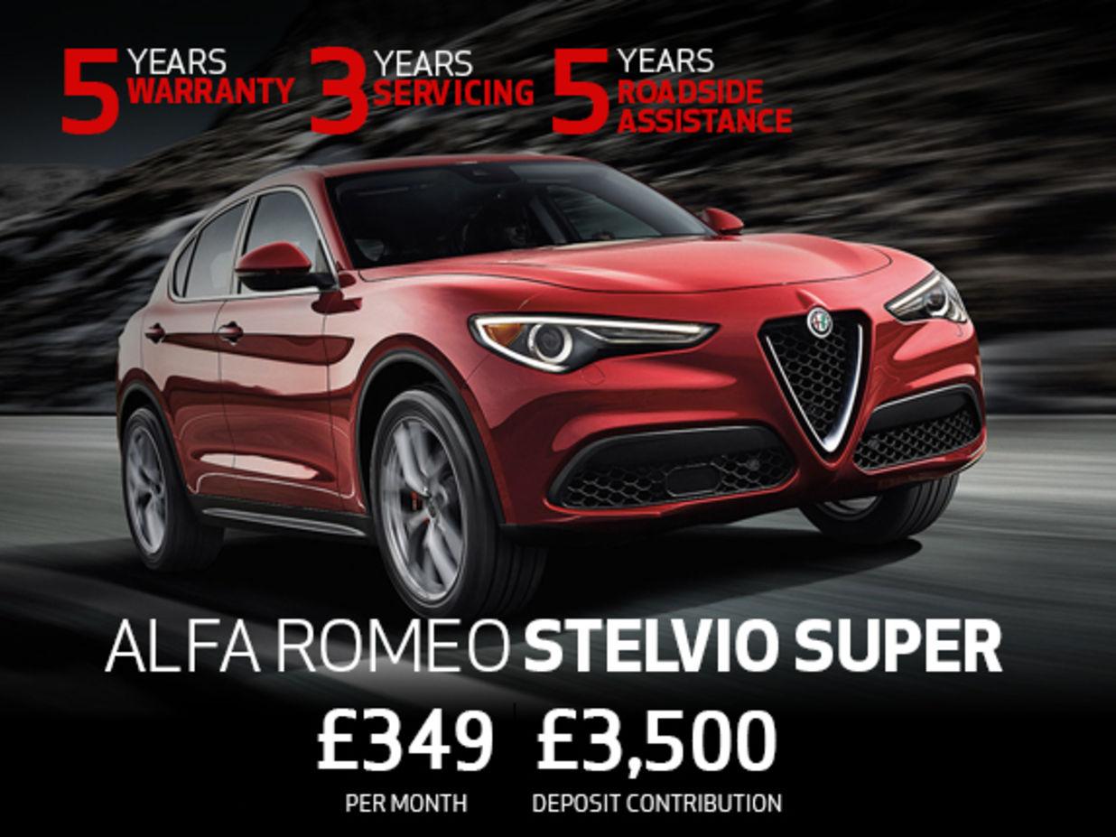 Alfa Romeo Stelvio Super Offer Kent And Berkshire Thames Alfa Romeo