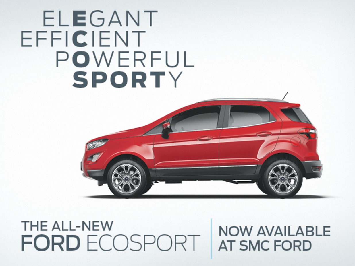 New Ford Ecosport Launch Event