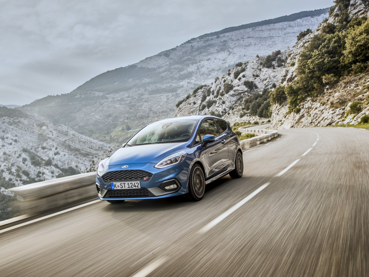 The all new ford fiesta st