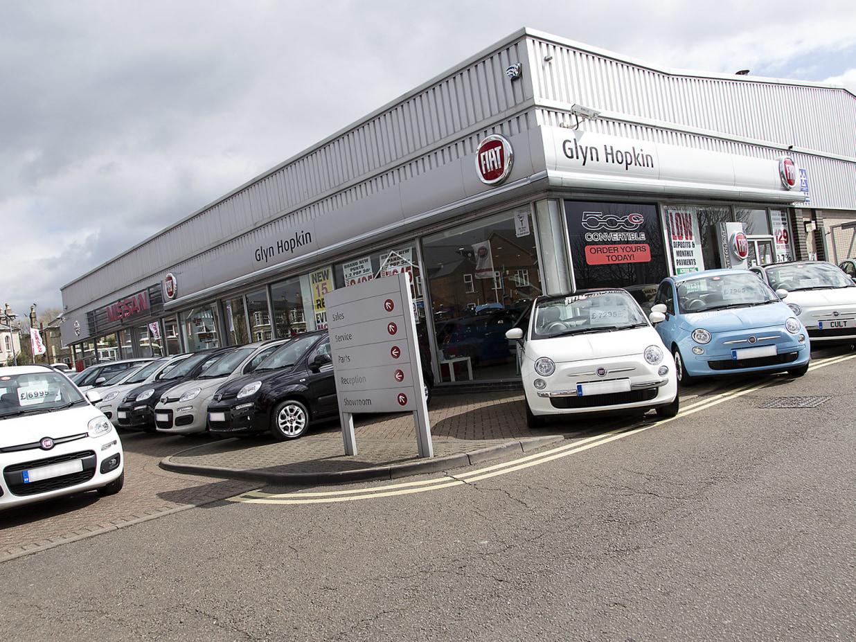 New Used Fiat Dealer In Ipswich Glyn Hopkin
