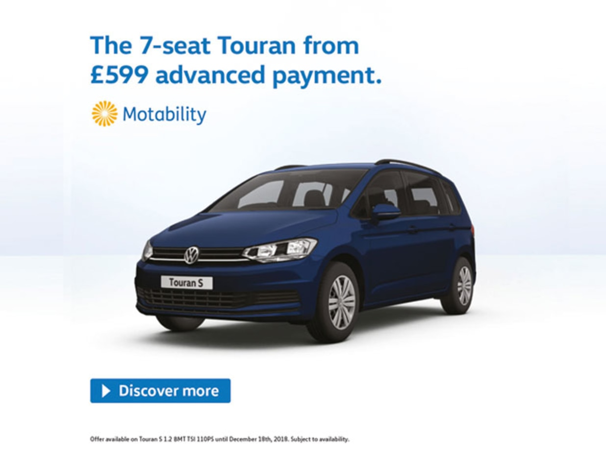 Volkswagen Motability Northern Ireland Donnelly