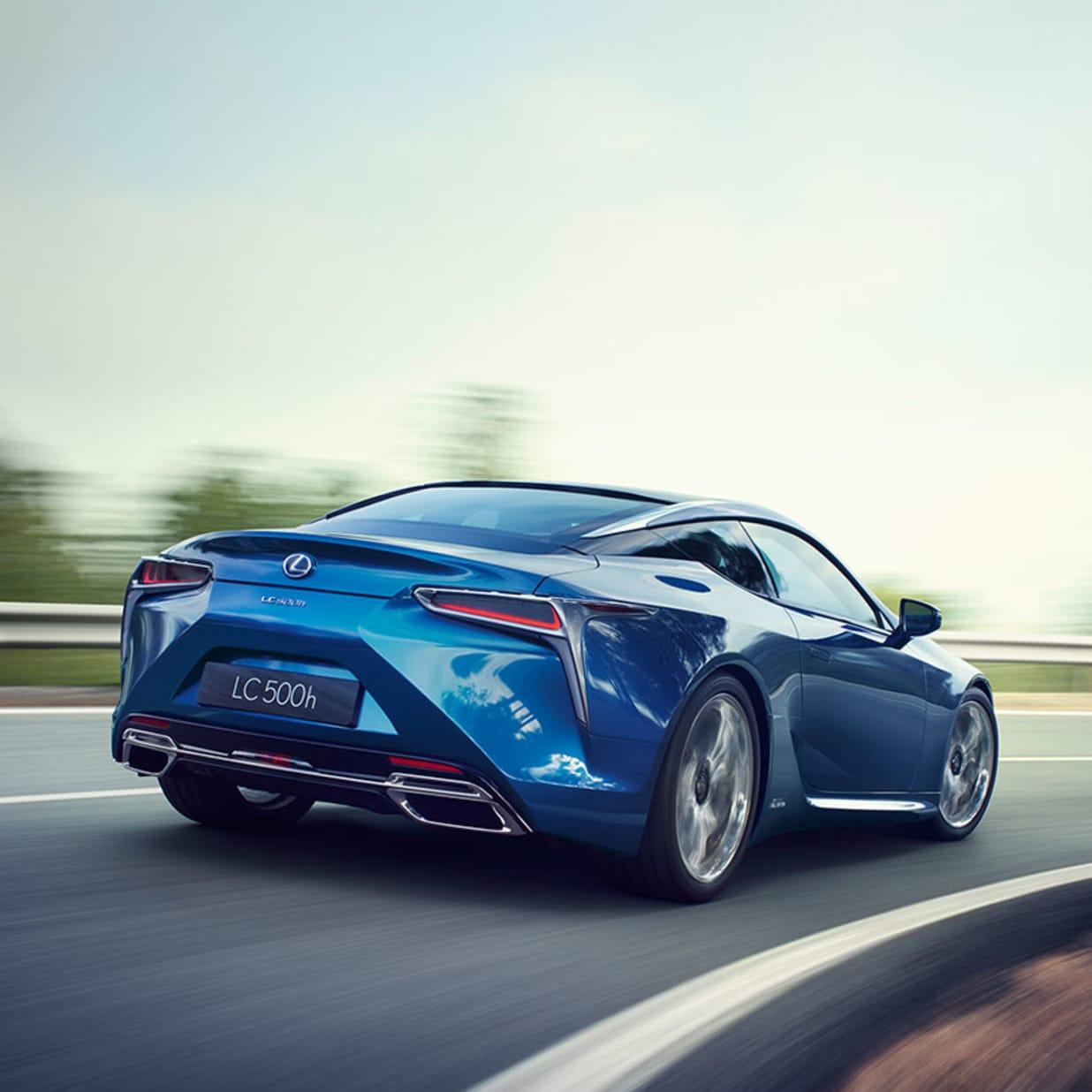 New Lexus Hybrids Liverpool Johnsons Lexus