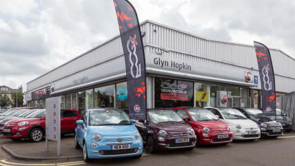 New Used Fiat Dealer In Ipswich Glyn Hopkin - Fiat dealers in london