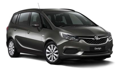 New Vauxhall Zafira Tourer Design