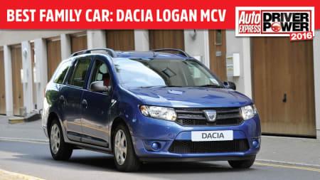 Category Dacia >> Dacia Logan Mcv Wins Family Car Category In Auto Express Driver