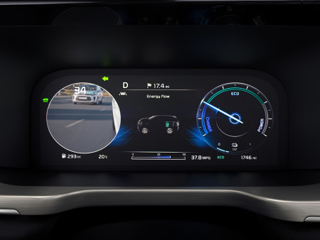 Kia Sorento Blind-Spot View Monitor (BVM) (only available on the '4' grade)