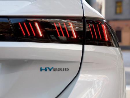 Peugeot 508 SW Hybrid Rear Lights