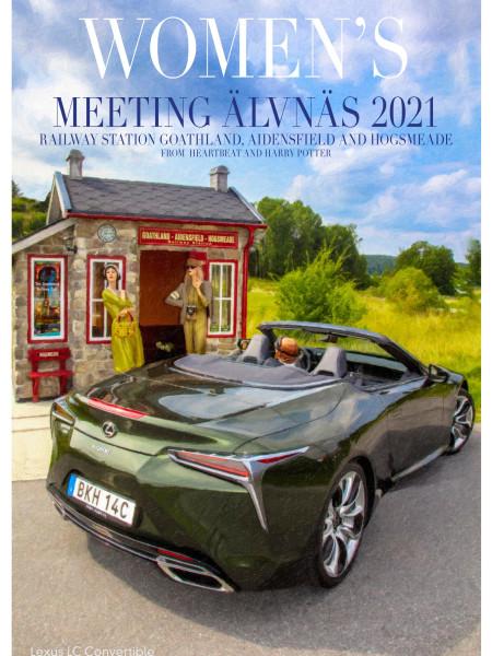 Lexus LC Convertible travel poster - Sweden