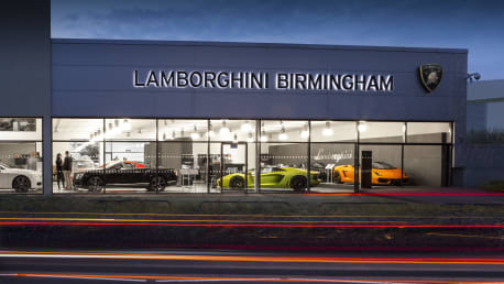 Lamborghini Birmingham Sytner Group Limited - Lamborghini car dealership
