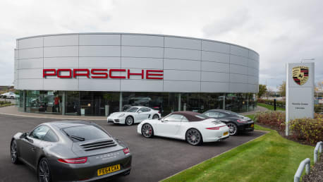 Porsche Centre Leicester Sytner Group Limited