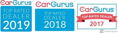 Car Gurus Top Rated Dealer Award 2019 Adg