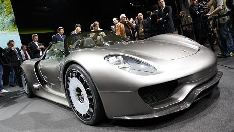U.S Talk Show Host Jay Leno Counts The Porsche 918 Among One Of His Many  Supercars.
