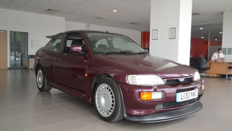 Grimsby Is Also Showcasing Another Escort That Mightve Caught Your Eye The Purple One Is An Escort Cosworth Originally Produced To Allow Ford To Compete