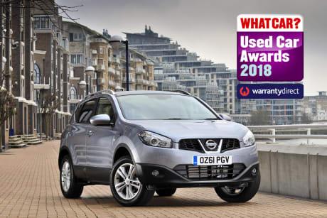 Nissan Qashqai Wins: \'What Car? Used Car Award\' 2018 | Westover Nissan