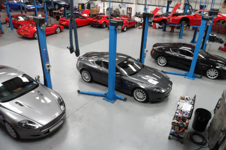 Ferrari Servicing & Repairs - The Ferrari Centre, Kent UK