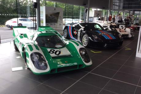 Porsche Centre East London Official Launch Evening | Jardine Motors
